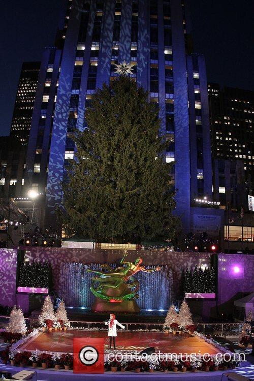 Atmosphere 76th Annual Rockefeller Center Christmas Tree Lighting...
