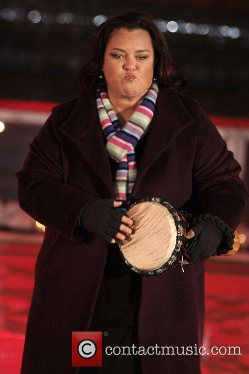 Rosie O'Donnell 76th Annual Rockefeller Center Christmas Tree...