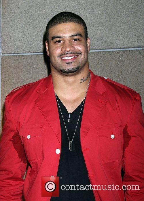 Shawne Merriman with sweat patches The 'Lights on...