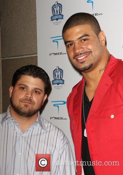 Jerry Ferrara and Shawne Merriman The 'Lights on...