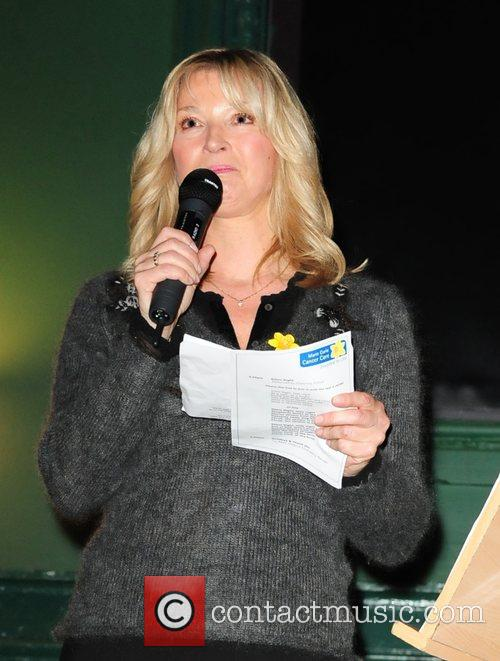 Gillian Taylforth Lights to Remember at Marie Curie...