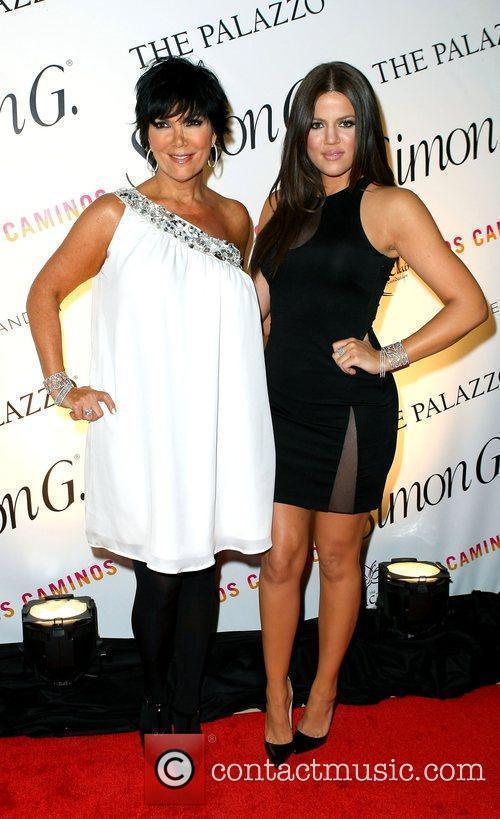 Kris Jenner and Khloe Kardashian Simon G. Jewelry...