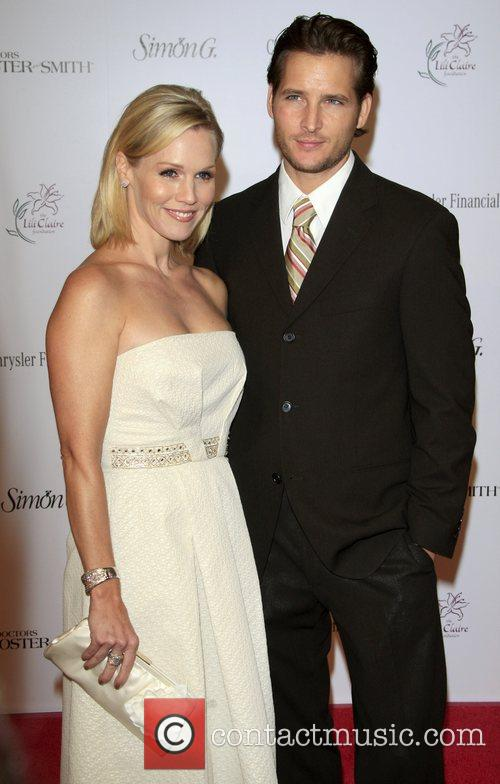 Jennie Garth and Husband Peter Facinelli 1