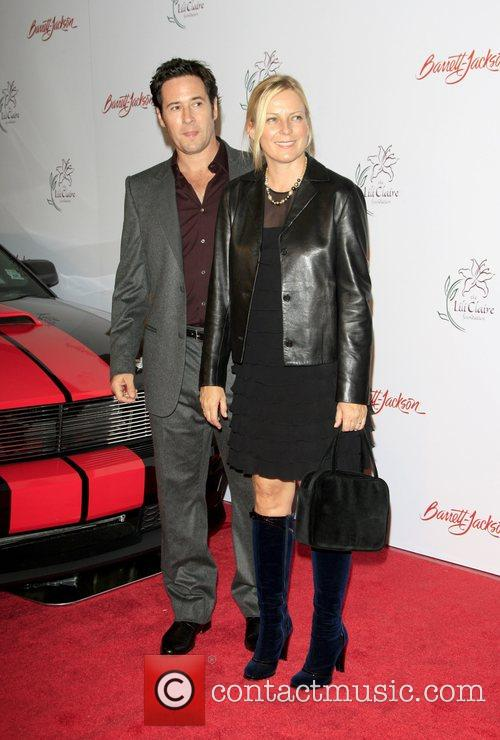 Rob Morrow and wife Debbon attends the 11th...