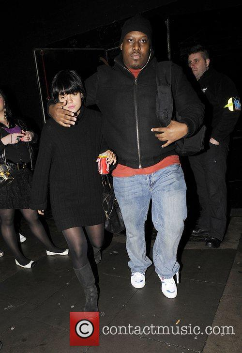 Lily Allen briefly leaves KOKO nightclub with her...