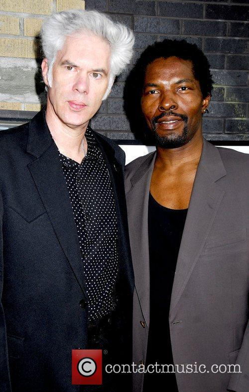 Jim Jarmusch and Isaach De Bankole 6