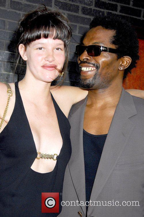 Paz De La Huerta and Isaach De Bankole