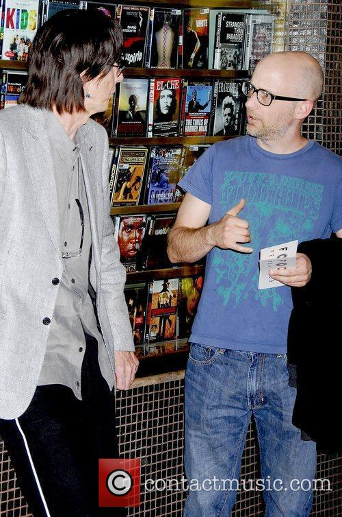 Ric Ocasek and Moby 8