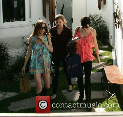 Lindsay Lohan and Ali Lohan shopping at Roseark...