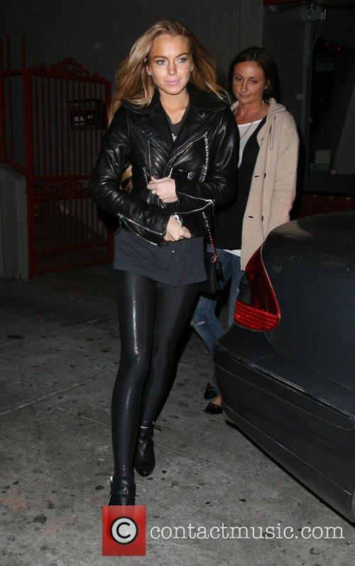 Leaving Magnolia restaurant in Hollywood after having dinner...
