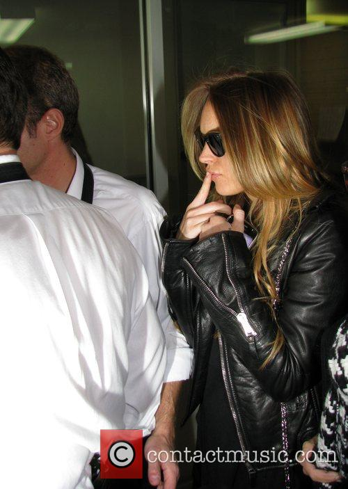 Lindsay Lohan gets ready to leave Beverly Hills...
