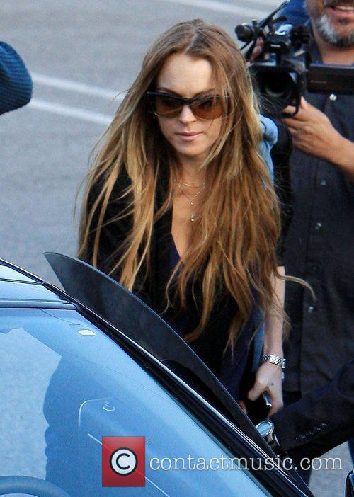 Lindsay Lohan out shopping in Beverly Hills. Los...