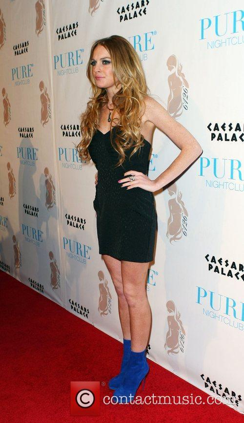 Lindsay Lohan Hosts and Lindsay Lohan 3