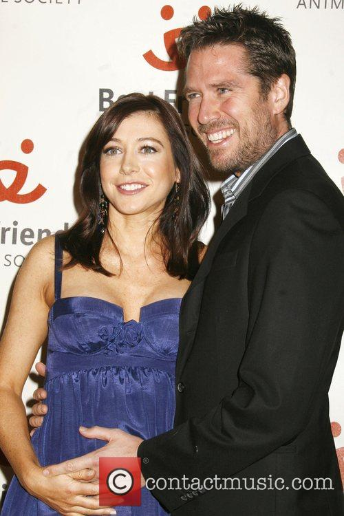 Alyson Hannigan and Alexis Denisof 15th Annual Lint...