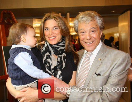 Lionel Blair With His Daughter 2