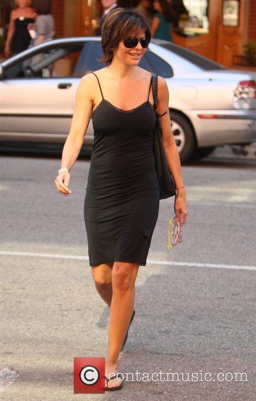 Lisa Rinna  leaving a Medical Center in...