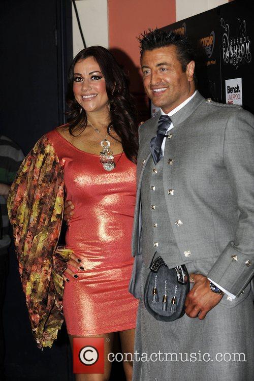Lisa Appleton and Mario Marconi Liverpool Fashion Week...