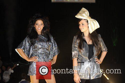 Bianca Gascoigne and Jennifer Clark Liverpool Fashion Week...