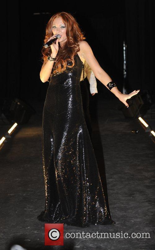 Natasha Hamilton Liverpool Fashion Week event held at...