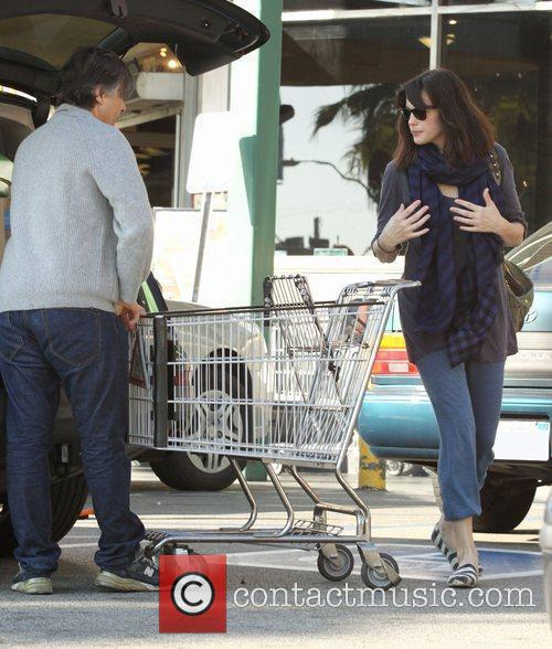 Liv Tyler pampers herself Sunday morning with a...