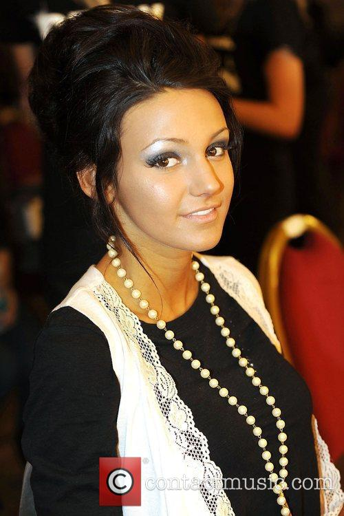 Michelle Keegan Liverpool Fashion Week event held at...