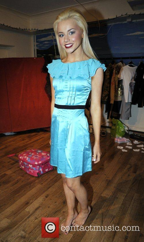 WAG Melissa Reeves Liverpool Fashion Week event held...