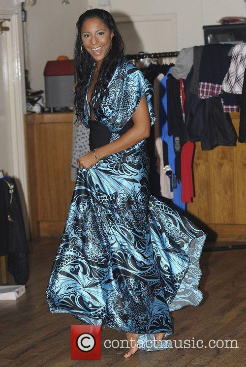 Sue-Elise from Miss-Teeq Liverpool Fashion Week event held...