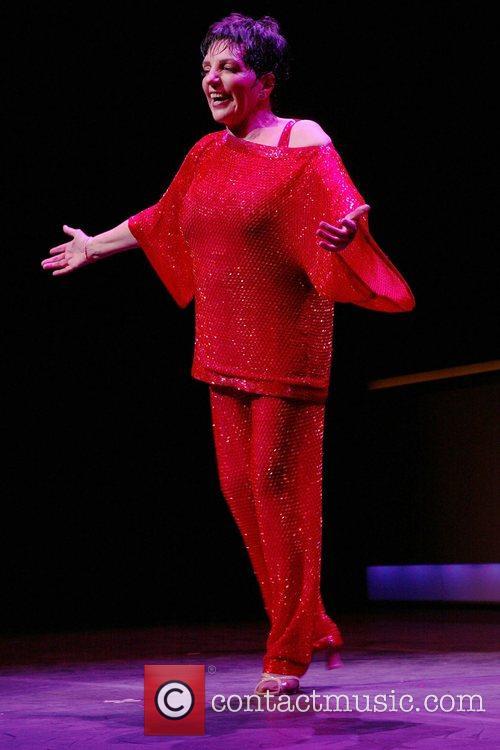 Liza Minnelli Opening Night of 'Liza's At The...