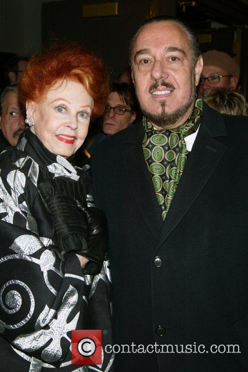 Arlene Dahl and Mark Rosen Opening Night of...