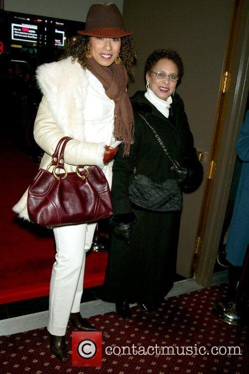 Tamara Tunie and Evelyn Hawkins Tunie Opening Night...