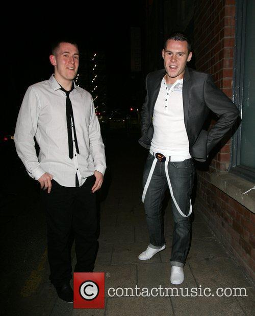 Danny Miller (l) and Hollyoaks 5