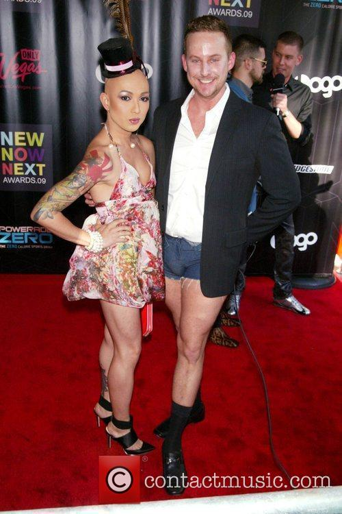 Ongina and Stephen Guarino 2nd Annual Logo NewNowNext...