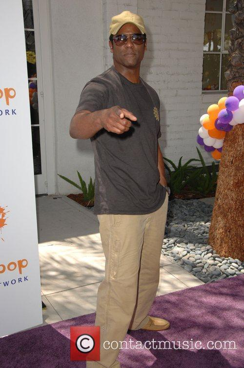 Blair Underwood Lollipop Theater Network Inaugural Game Day...