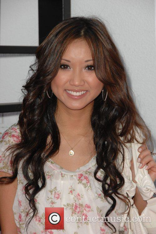 Brenda Song Lollipop Theater Network Inaugural Game Day...