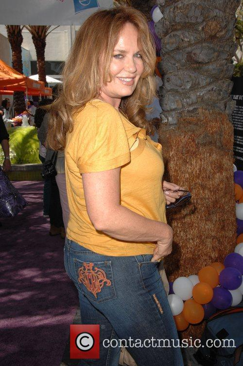Catherine Bach Lollipop Theater Network Inaugural Game Day...