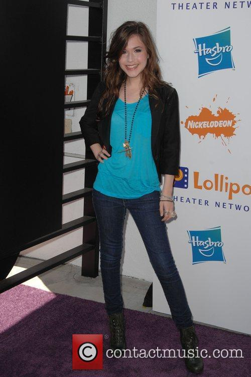 Erin Sanders Lollipop Theater Network Inaugural Game Day...