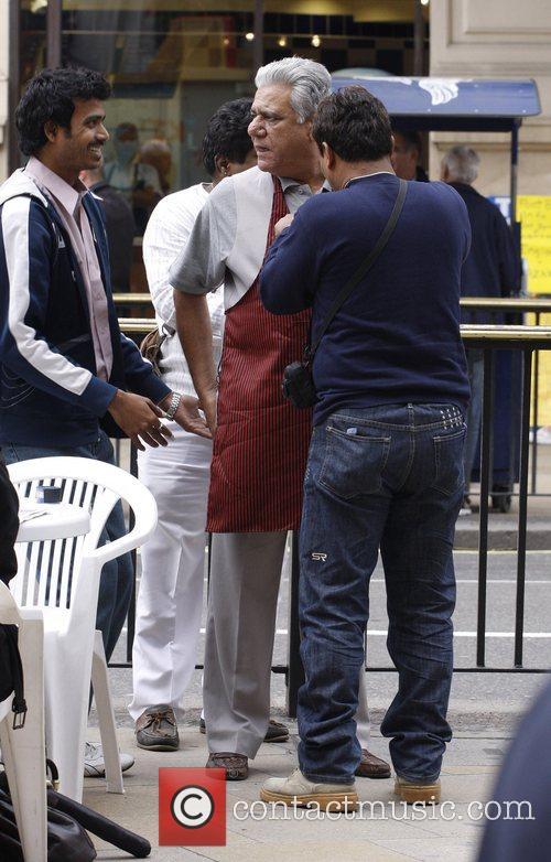 Om Puri Fiming on location of new movie...