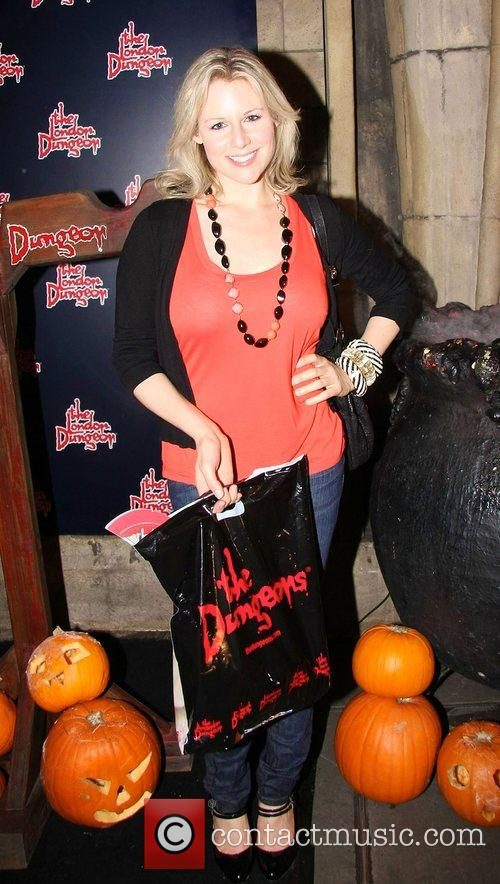 Abi Titmuss London Dungeon Fear-Fest launch party London,...