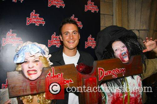 Gary Lucy London Dungeon Fear-Fest launch party London,...