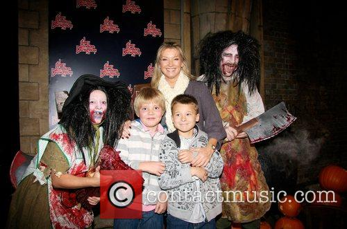 Gillian Taylforth, Harrison Knights and Guest London Dungeon...