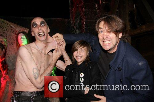 Jonathan Ross and Harvey Kirby Ross London Dungeon...