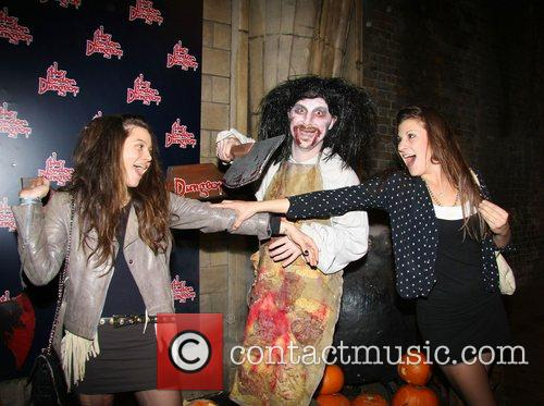 Nathalie Lunghi and Guest London Dungeon Fear-Fest launch...