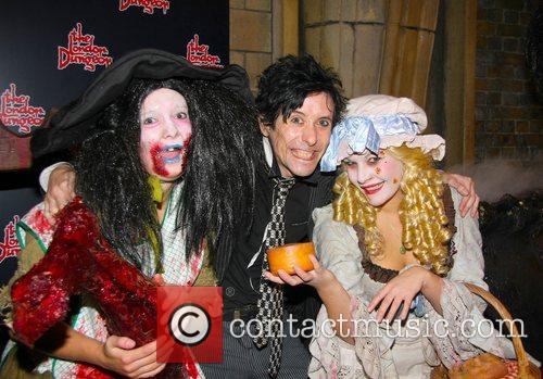 Ross Lee London Dungeon Fear-Fest launch party London,...