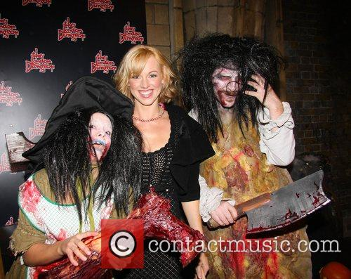 Sarah Manners London Dungeon Fear-Fest launch party London,...
