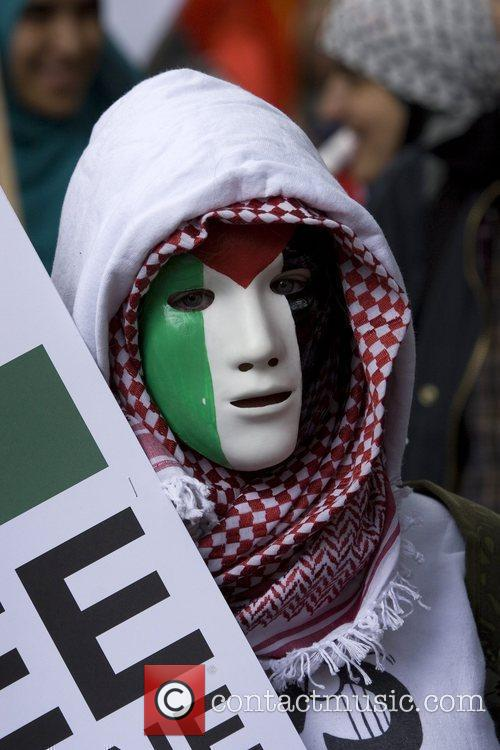 Remember Gaza: National Demonstration held in Central London