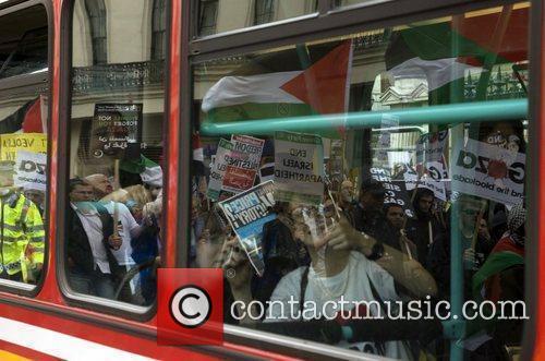 Remember Gaza: National Demonstration held in Central London