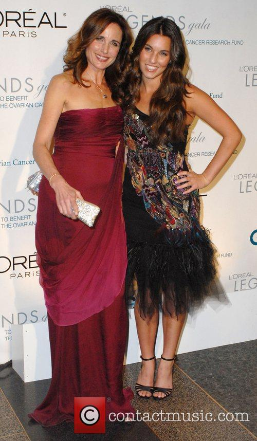Andie Macdowell and Daughter Rainey 4