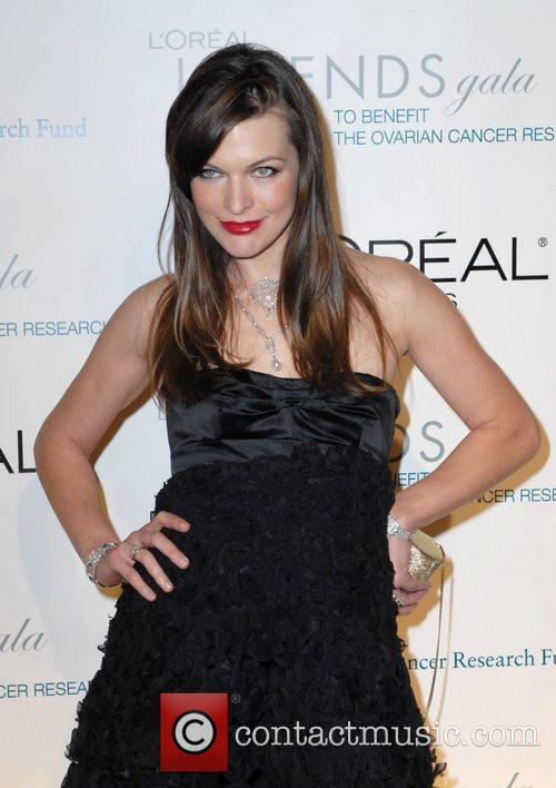 Milla Jovovich L'Oreal Legends Gala to Benefit The...