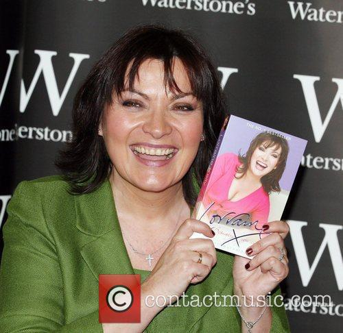 Lorraine Kelly booksigning at Waterstone's in Bluewater