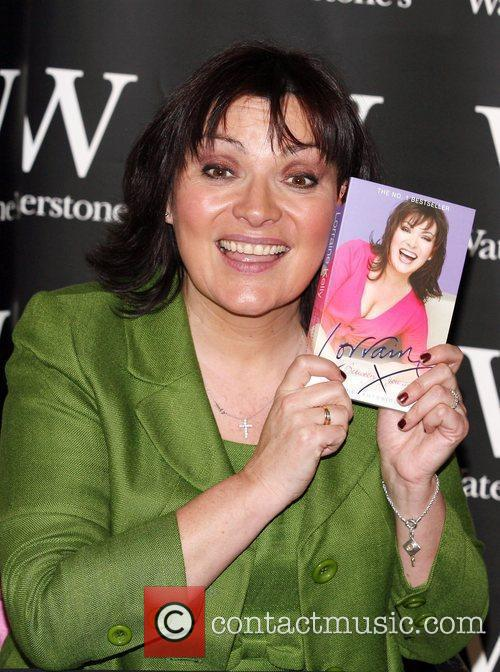 Lorraine Kelly booksigning at Waterstone's in Bluewater Kent,...